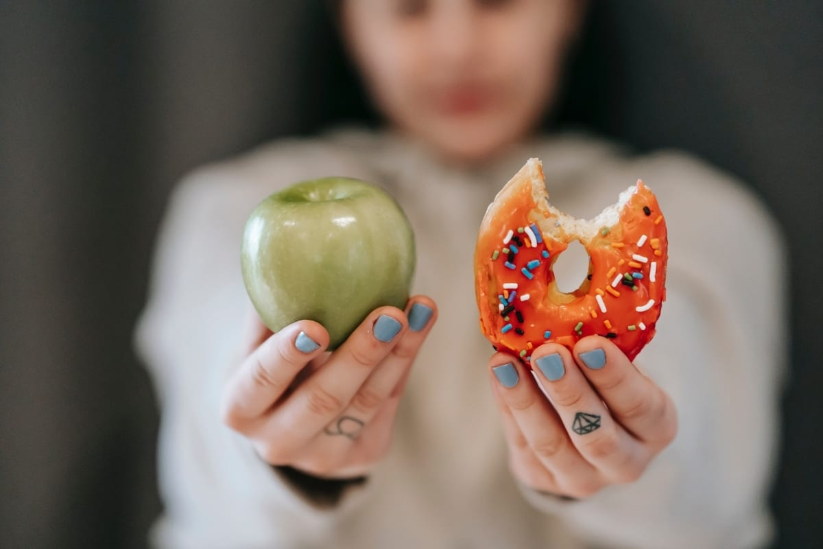 """Food freedom = eating all the things whenever you want, right? We've got some news for you. That """"food freedom"""" might not actually be setting you free. If you feel like you've struggled with swinging between dieting and food freedom, this episode is definitely for you!"""